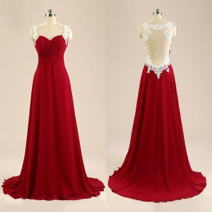 Fashion Sweetheart Prom Dresses wit..