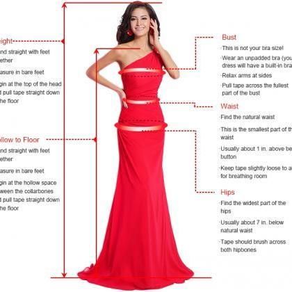 Deep V-neck Prom Dresses with Beade..