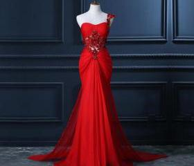 One Shoulder Prom Dr..