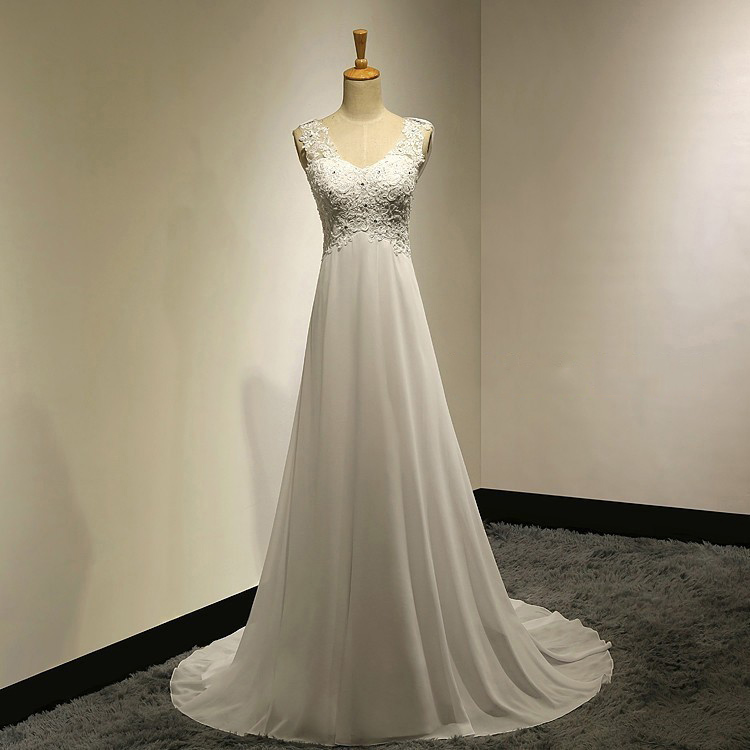 Cowl Neck Wedding Dresses Whimsical: Affordable Empire Wedding Dresses With Cowl Back, Illusion